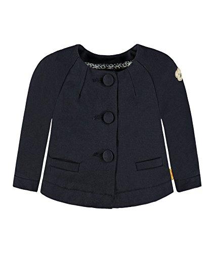 Steiff Mädchen Strickjacke Jacke, Blau (Marine 3032), 116