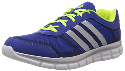 Adidas Men's Marlin Blue and Yellow Mesh Shoes