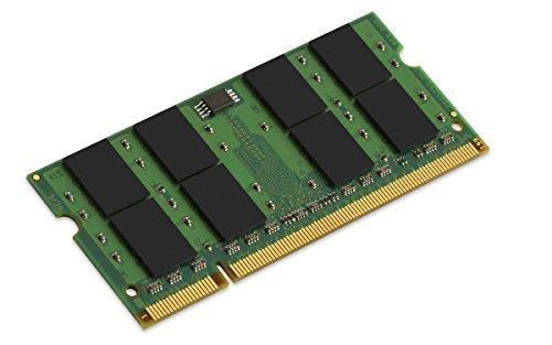 Kingston KVR800D2S6/2G RAM 2 GB 800 MHz DDR2 Non-ECC CL6 SODIMM, 200-Pin, 1.8 V by Kingston Technology