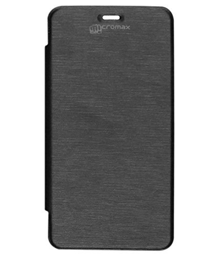 DMG Premium Flip Cover Case for Micromax Canvas Power A96 (Black)  available at amazon for Rs.199