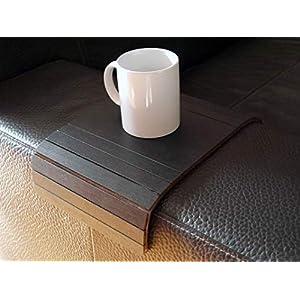 Holz sofa armlehnentisch in vielen farben wie schwarz Armlehnentablett Moderner tisch für couch Klein schleichendes…