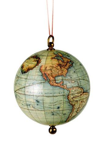 Globus aus dem Zeitalter der Entdeckung - Ornament -