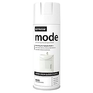 Rust-Oleum AE0240001E8 400ml Mode Ultra High Gloss Spray Paint - White