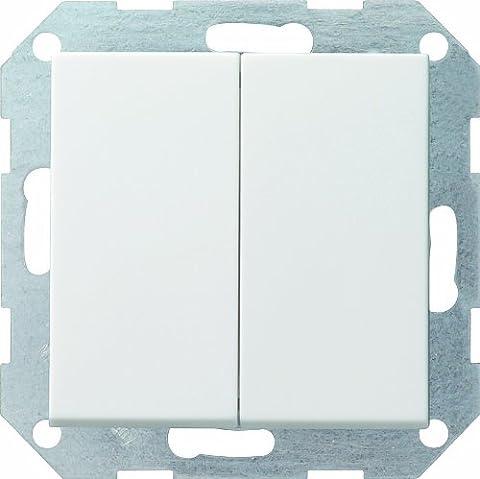 Gira 012803 Tastschalter Wechsel System 55, reinweiß