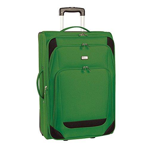 Fabrizio Gepäckset 3 Teilig, 74 cm, Koffer, 60 Liter, Grün/schwarz