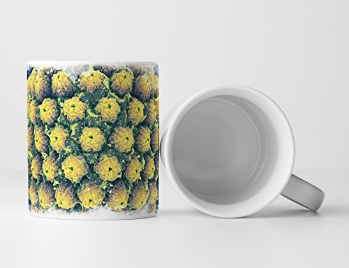 Eau Zone Fotokunst Tasse Geschenk Herpes Virus - Illustration