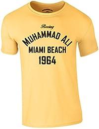 Muhammad Ali Boxing T-Shirt Miami Beach 1964 Heavyweight Champion