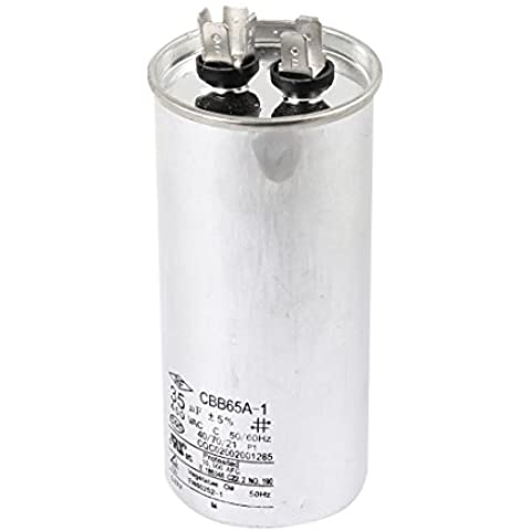 Película de Polipropileno de inicio condensador del motor CBB65A-1 AC450V 35uF 50 / 60Hz