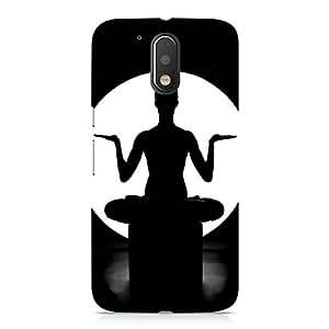 Hamee Designer Printed Hard Back Case Cover for Motorola Moto Z Play Design 395