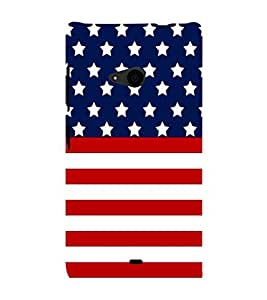 EPICCASE America Mobile Back Case Cover For Nokia Lumia 535 (Designer Case)