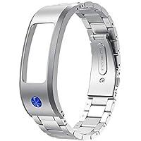 Hunpta@ Uhrenarmband für Garmin Vivofit 2, Edelstahl-Ersatz-Uhrenarmband-Bügel-Armband