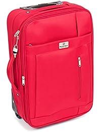 MasterGear Kabinen-Trolley mit Handgepäckmaßen: 55 x 35 x 20 cm für ALLE Fluggesellschaften