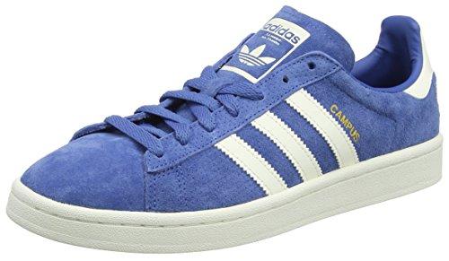 low priced d9888 296c4 adidas Campus, Chaussures de Gymnastique Homme, Bleu (Trace Royal S18 off  White