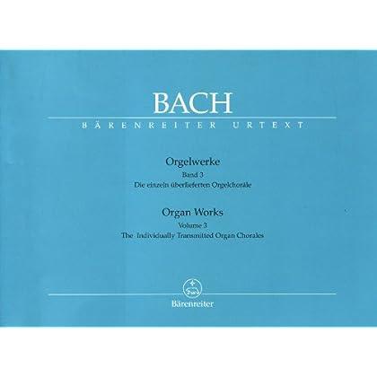 Orgelwerke Bd.3: Einzeln überlieferte Choräle