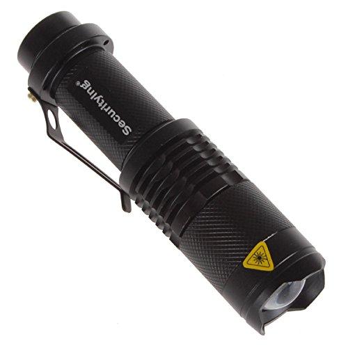 SecurityIng 3 Modi Zoom Einstellbare XM-L T6 LED 1000Lm Wasserdichte Beleuchtung Lampe Licht Lechte Handlampe Taschenlampe