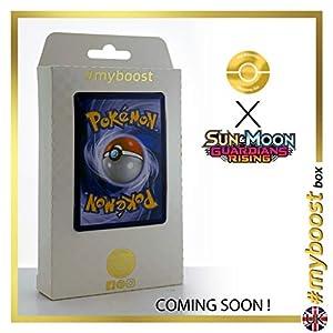 Vikavolt SM28 Holo - #myboost X Sun & Moon 2 Gardians Rising - Box de 10 cartas Pokémon Inglesas
