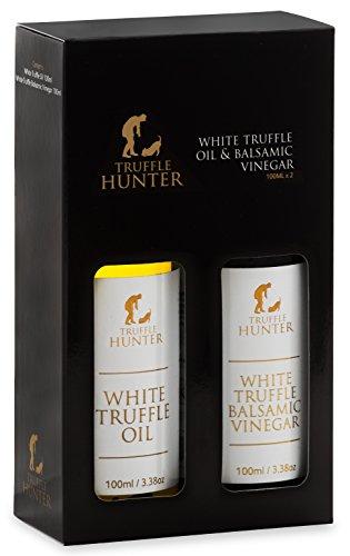 TruffleHunter Weißes Trüffelöl & Balsamico-Essig (kurze Flaschen)