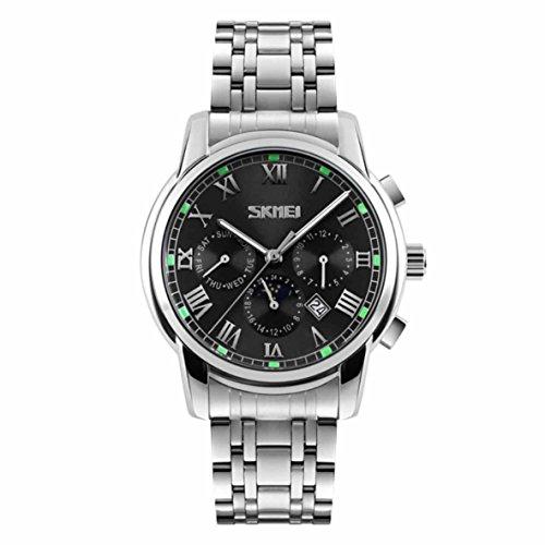 Skmei 9121BLK  Analog-digital Watch For Unisex