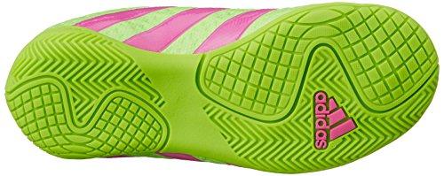 adidas Ace 16.4 IN J, Scarpe da calcio donna Multicolore (Verde / Rosa / Negro (Versol / Rosimp / Negbas))