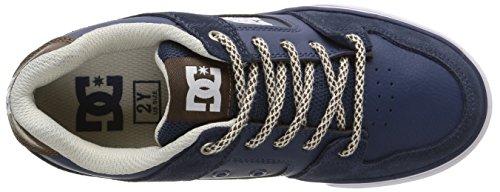DC Shoes Pure Se, Chaussures Premiers pas garçon Bleu (Navy/Dk Chocolate)