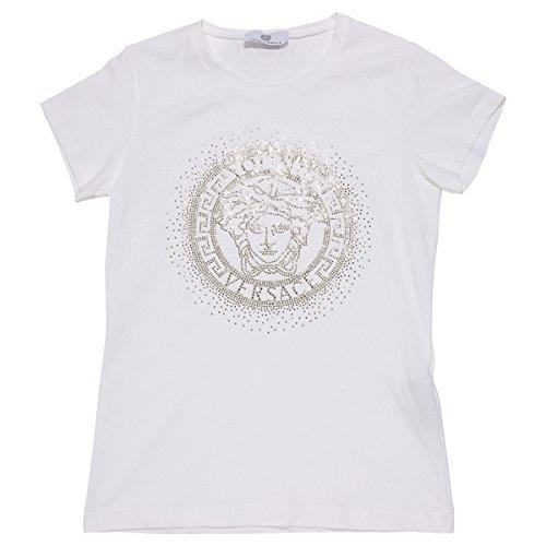Young-Versace-ivory-studded-logoT-shirt