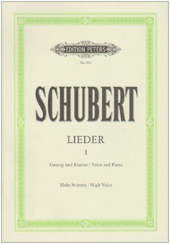 Lieder Volume 1-Rév.: Friedländer - VxH/Po par Schubert Franz