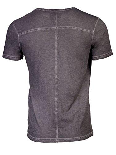 TREVOR'S KIMI cold pigment dyed Herren T-Shirt mit Rundhalsausschnitt aus 100% Bio-Baumwolle - soziale fair trade Kleidung, Mode vegan und nachhaltig Color loft, Size S - 2