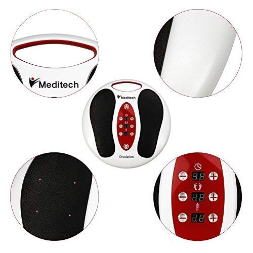 Lsnisni électromagnétique Massage des pieds, 25 modes de massage, 99 intensités réglables, 4 pour le corps, soins des pieds et relaxation du... 7