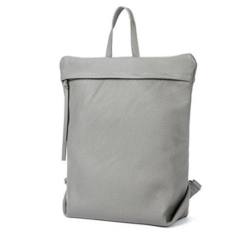 SHFANG Leder-Dame doppelte Schultertasche / Mode Freizeit Rucksack / Student Tasche, zur Schule gehen / Reisen , 3 3