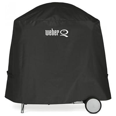 Weber Abdeckhaube Premium, schwarz, 25,7 x 6,4 x 30,7 cm, 7120