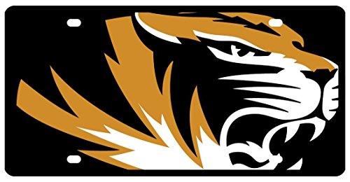 Wincraft Missouri - University of S40109 Acryl-Kennzeichen (License Plate Missouri)