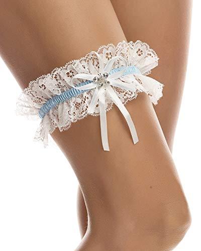 Giarrettiera matrimonio - giarrettiera sposa con cristalli scintillanti a forma di farfalla- giarrettiere, nuziale accessori - dono di damigella d'onore per la sposa- pizzo morbido elastico - avorio
