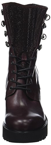 Now Damen 4219 Biker Boots Rot (Bordeaux)