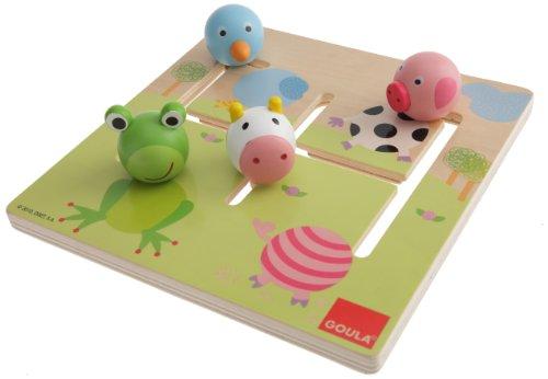 Goula 53100 - Puzzle Labirinto Animali