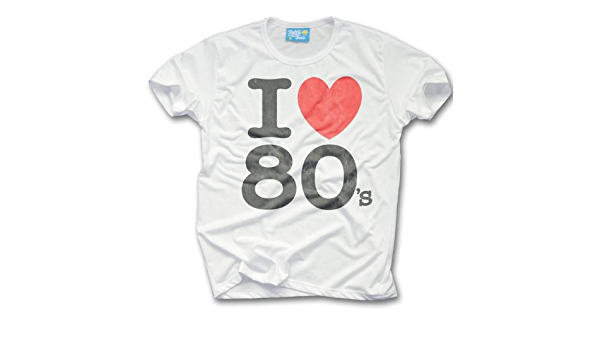 Retro Tees Mens I Love The 80s T Shirt Amazon Co Uk Clothing