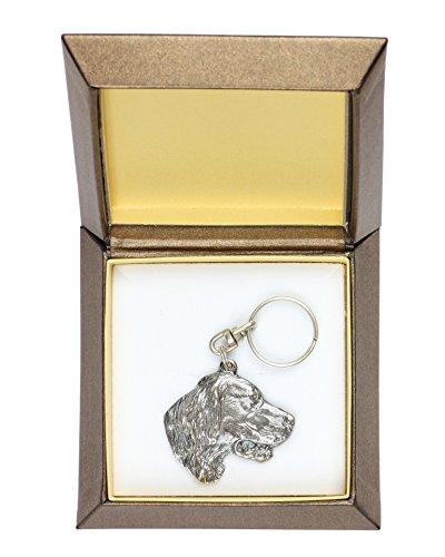 Setter, Hund Schlüsselanhänger, Schlüsselhalter, Schmuckschatulle, Limitierte Auflage, ArtDog (Schlüsselanhänger Setter)