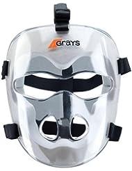 Grays jugadores de hockey máscara de cara escudo protector resistente a los impactos de espuma acolchada
