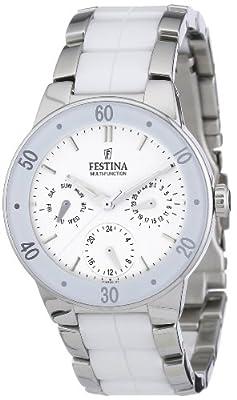 Reloj Festina F16530/1 de cuarzo para mujer con correa de acero inoxidable, color multicolor de Festina