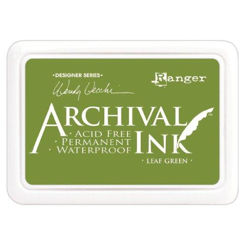 Ranger Archival Ink Pad, Leaf Green