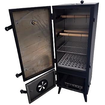 El Fuego Gasgrill, Gas-Smoker Portland, Schwarz, 55x105x45
