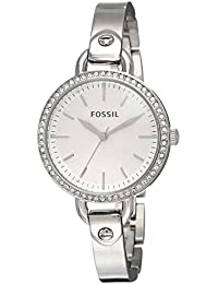 Fossil Analog Silver Dial Women's Watch-BQ3162