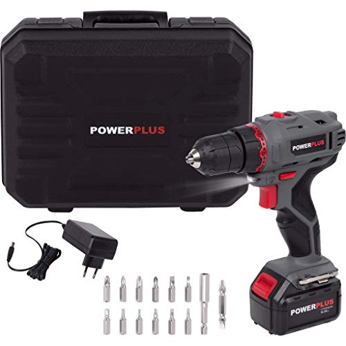 POWERPLUS POWE00031 - Taladro/atornillador 14.4v litio