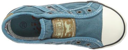 Mustang Unisex-Kinder Sneaker Türkis (760 smaragd)