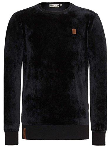 Naketano Male Sweatshirt Asgardian Mack II Black