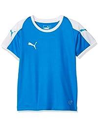 31246b95b2 Puma Liga Jersey Jr, Maglietta Unisex-Bambini, Blu (Electric Blue Lemonade/