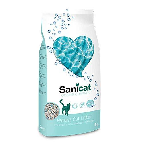 Sanicat Odour Control Lettiera per Gatti Assorbente - 5L