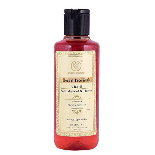Khadi Sandale und Honig Gesicht waschen - 210ml -