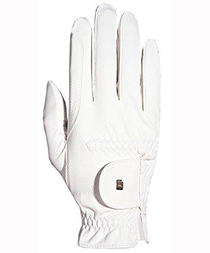 Roeckl -Roeck Grip- Handschuh, Unisex, Reithandschuh, Weiß, Größe 9,5