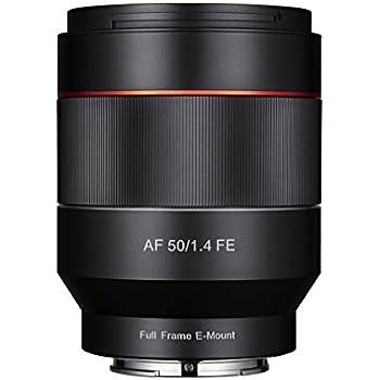 Samyang SA7001 - Objetivo focal fijo para cámaras digitales sin espejo para Sony E (AF 50mm F1.4 AS IF UMC), negro