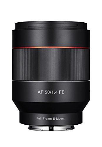 Samyang AF 50mm f/1.4 Autofokus-Objektiv für Anschluss Sony E-Mount Vollformat, schwarz
